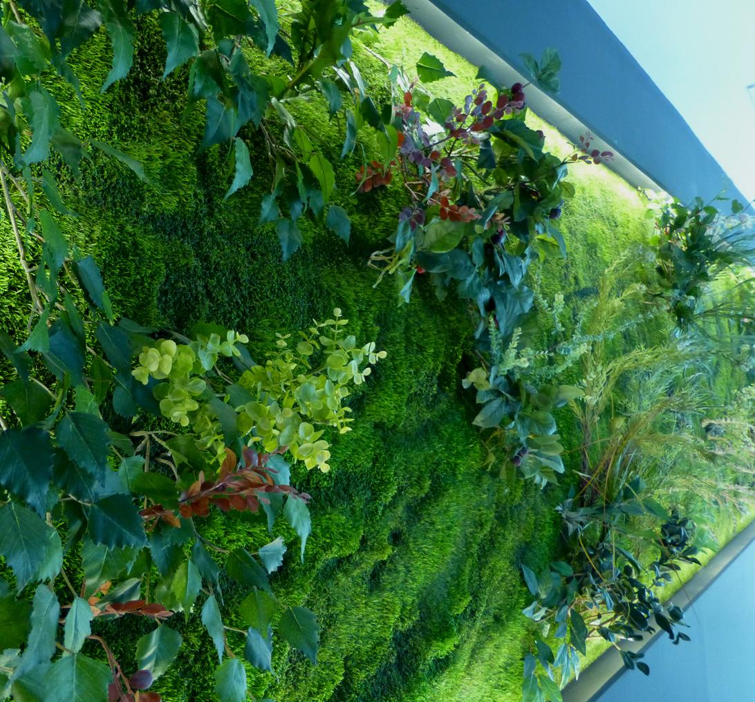 Cuaderno de campo y taller jard n vertical artificial for Jardin vertical artificial