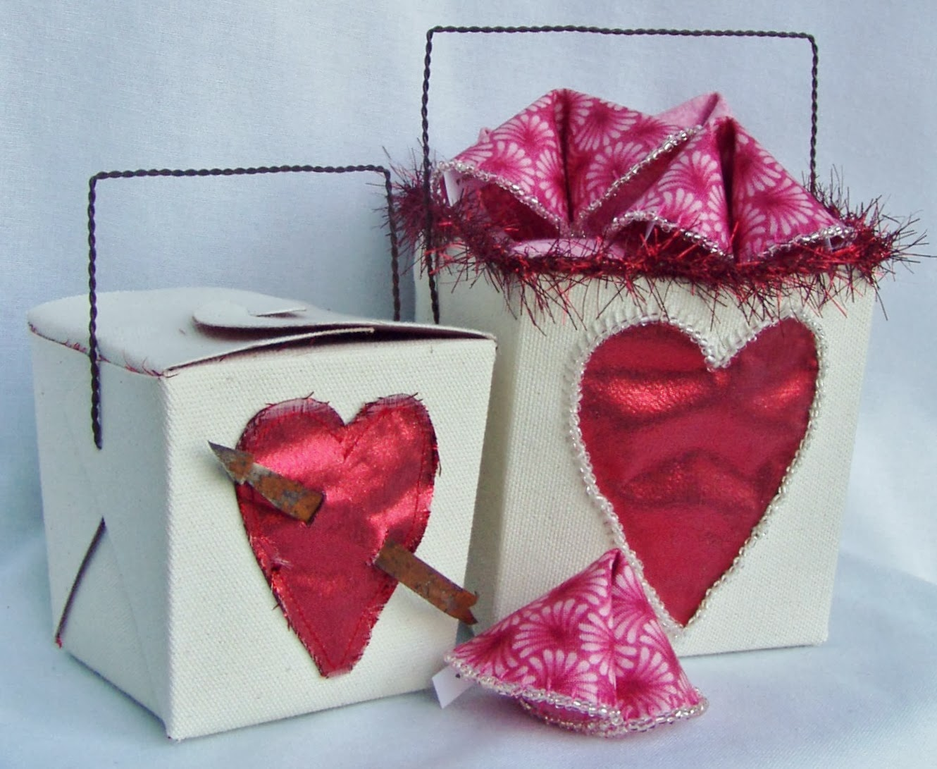 Take Out Love Valentines Fortune Cookies/Boxes ePattern