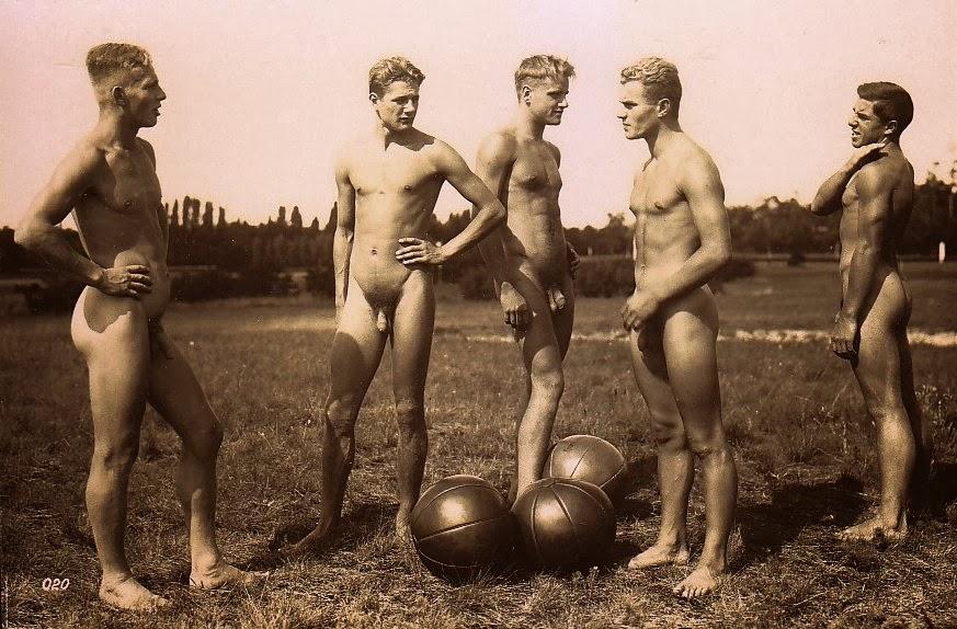 Ретро фото голых мужиков