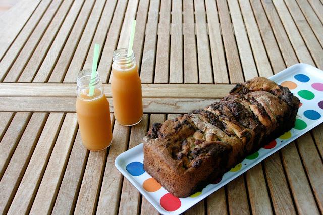 Brioix amb nutella per esmorzar