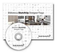 DVD Biblioteca de Blocos Sketchup