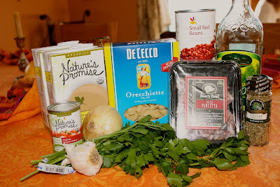 ingredients Pasta Fazool