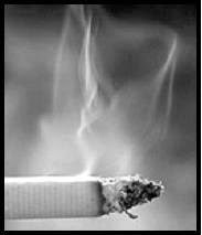 Smoking affects oral health