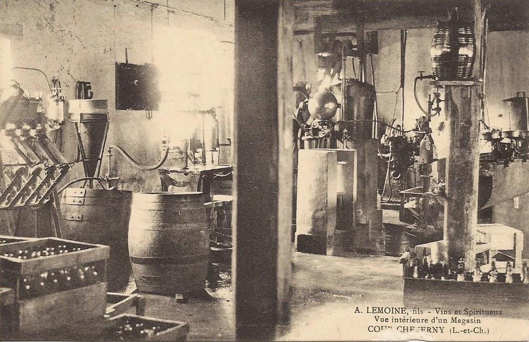 Vins et Spiritueux - A. Lemoine fils - Cour-Cheverny