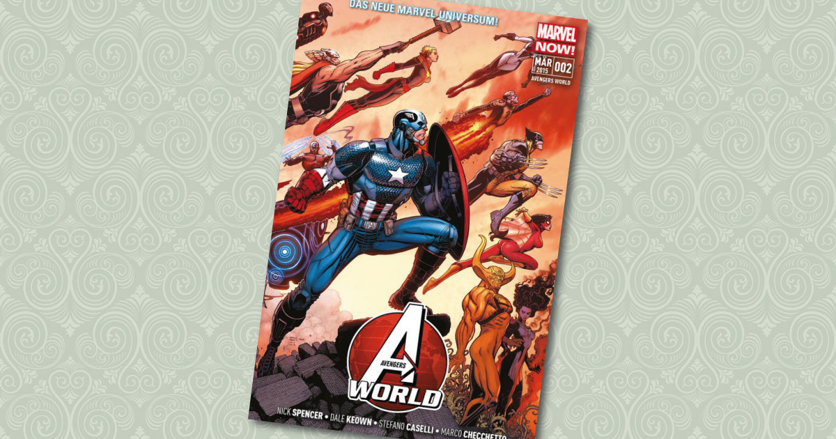 Avengers World 2 Comic