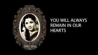 A Tribute to Aachi Manorama _ Radaan Mediaworks India Ltd _ Legend Forever
