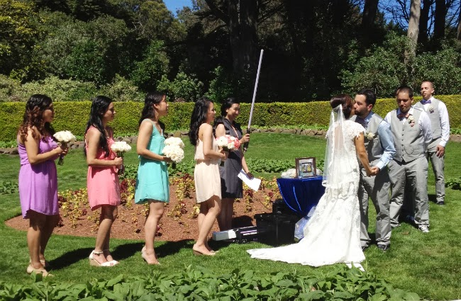 wedding golden gate park windmill outdoor san francisco sunny outfit idea