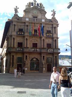 Pamplona cityhall