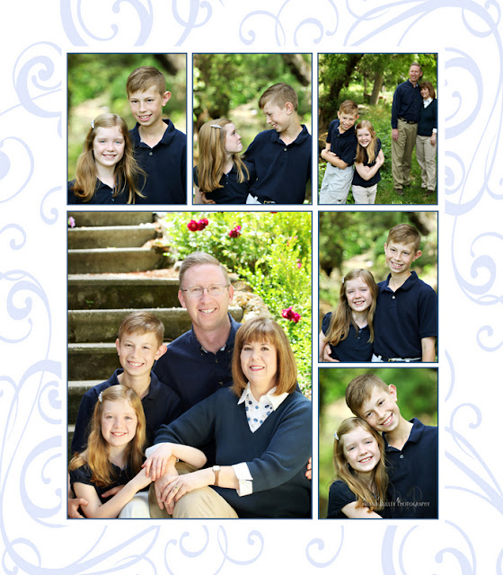 Family photos taken outside in Sacramento