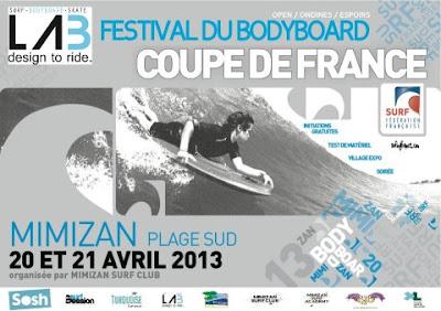 2 ème étape du Bodyboard National Tour 2013 mimizan landes
