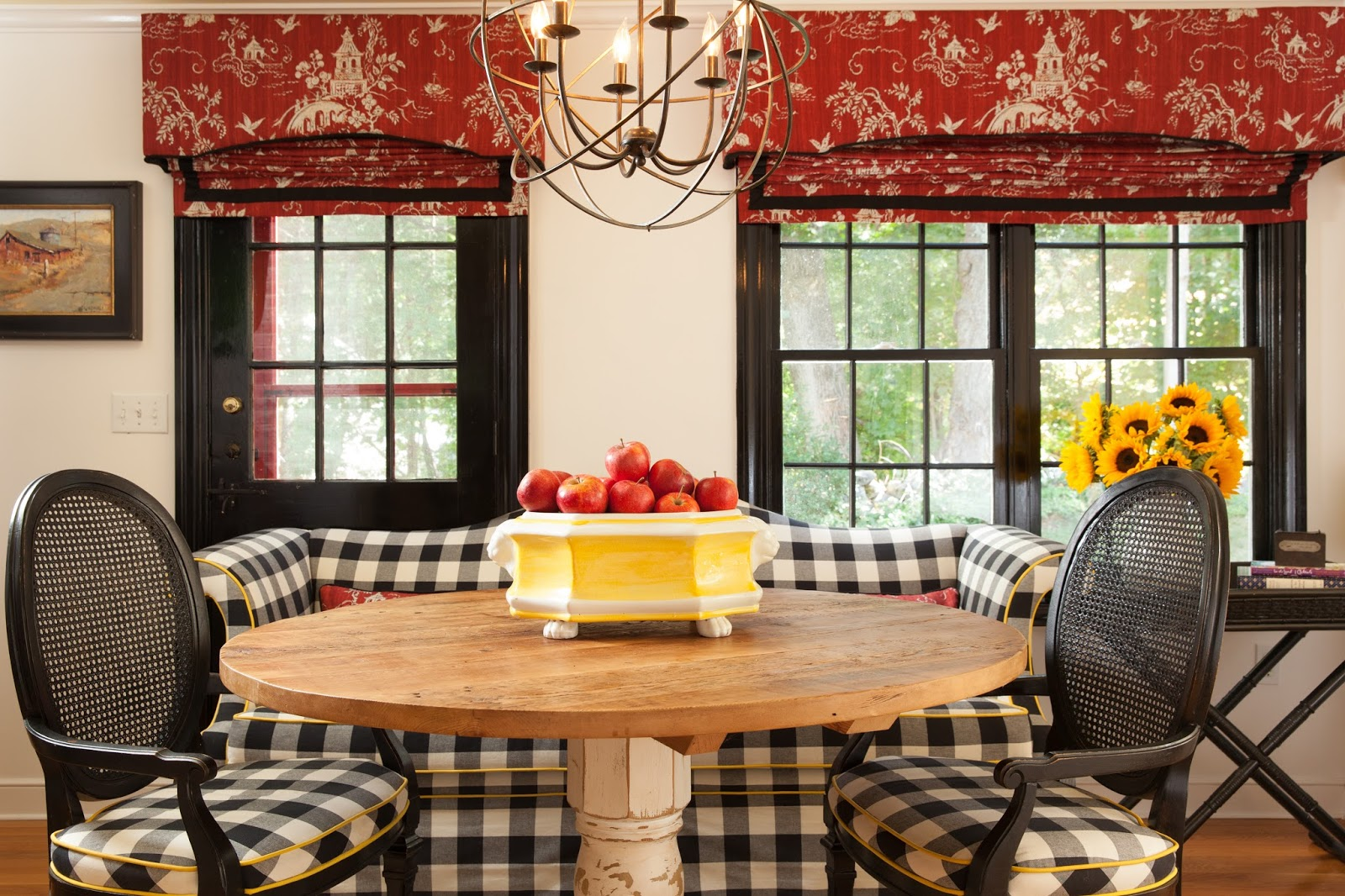New England Fine Living Farmhouse Country Decorating In New England
