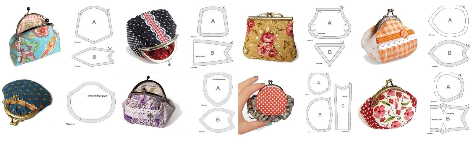 nunonu: 5 Tutoriales para confeccionar monederos