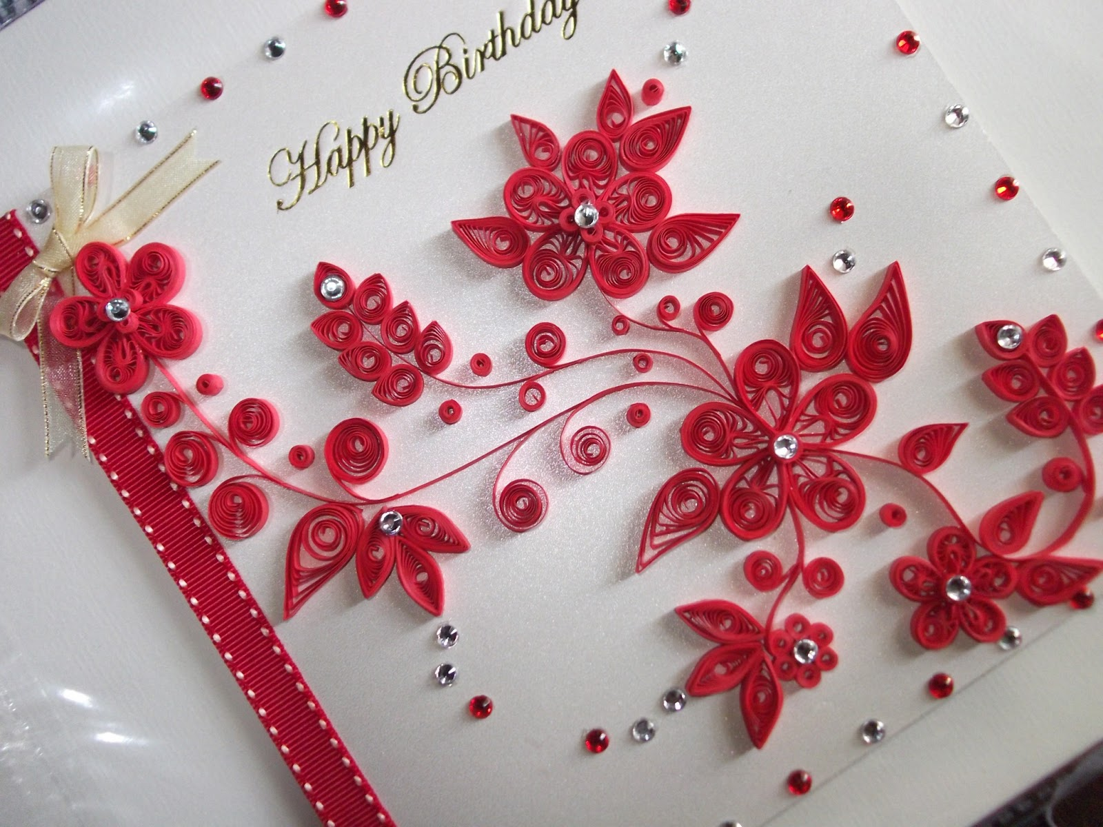 Paper quilling and other crafts dnh artworks birthday card birthday card quilling card m4hsunfo