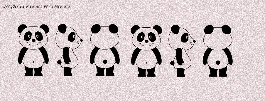 Doações De Meninas Para Meninas Capas Para Facebook 9 Pandas