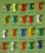 . serían 28 modelos y no 26, pero hay dos F1 que aún siendo distintos .