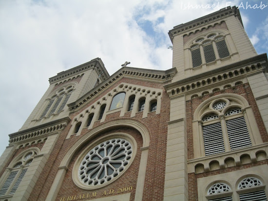 Assumption Cathedral in Bangkok City