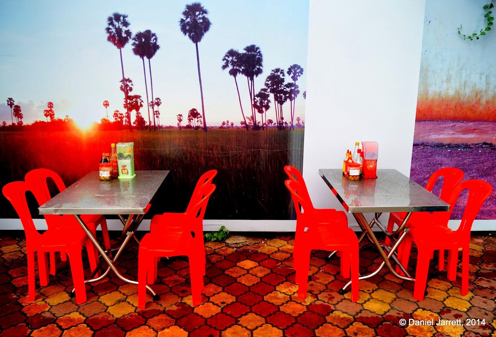Paradise at lunch, Phnom Penh, Cambodia