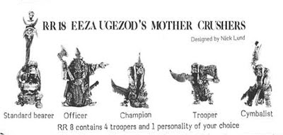 RR18/RRD8 - Eeza Ugezod's Mother Crushers