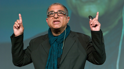 It's also the only thing that ever comes out of Deepak Chopra's mouth.