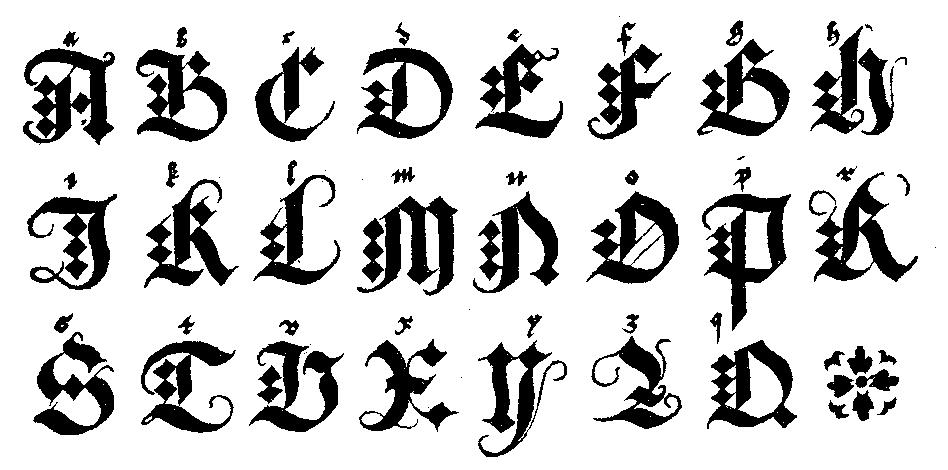 Alfabeto de Letras Graffitis Letra de Graffiti Alfabeto