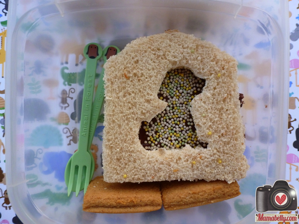 My Son Loved The Idea Of Dog In His House And I How Easy It Was To Make This Sandwich Lunch Punches Really Are A Fun Making Tool