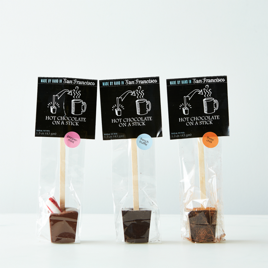 hot chocolate pops