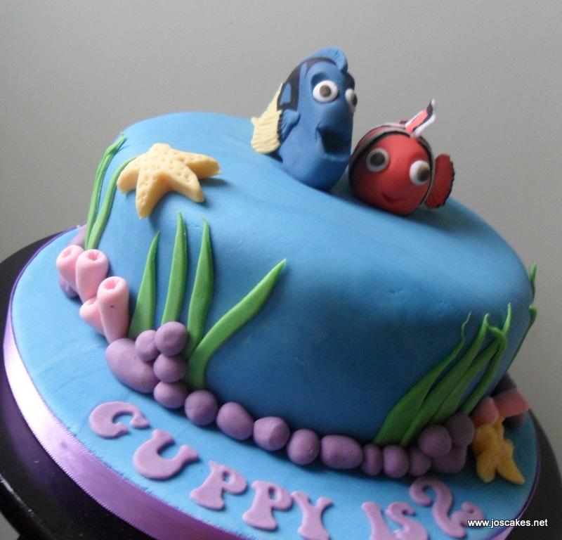 Nemo Cake: Jo's Cakes: November 2011