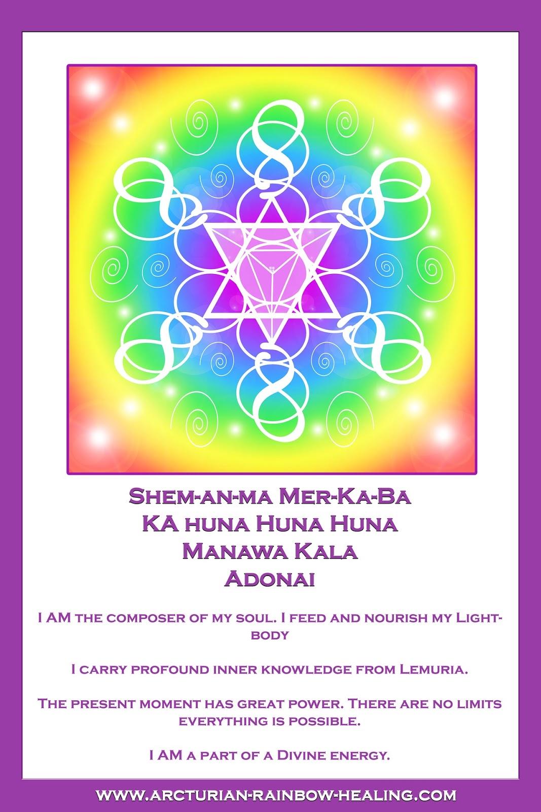 Rainbow Rays And Symbols Reiki Gods Love
