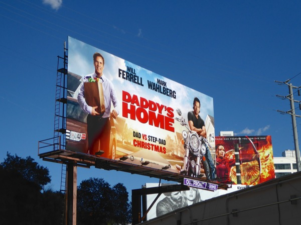 Daddy's Home film billboard