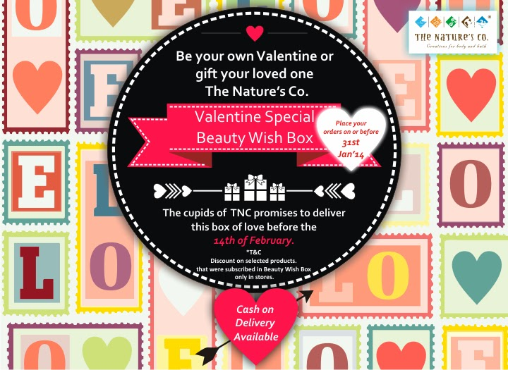 The Nature's Co. February Valentine Special Beauty Wish Box image