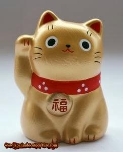 """Maneki Neko """"招き猫"""" Kucing Emas"""