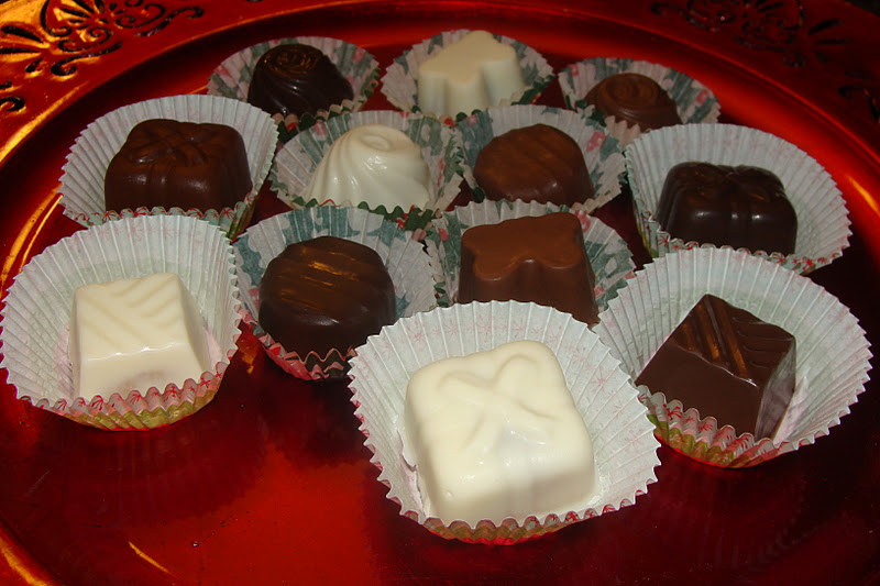 Lili Popotte Chocolats Fourres Pour Noel