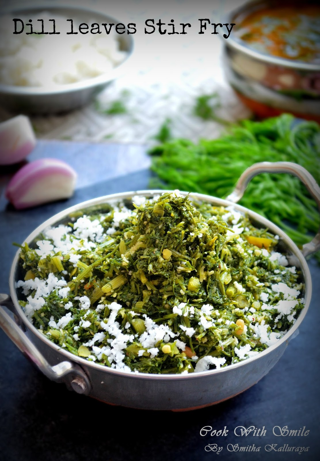 how to cook dill leaves