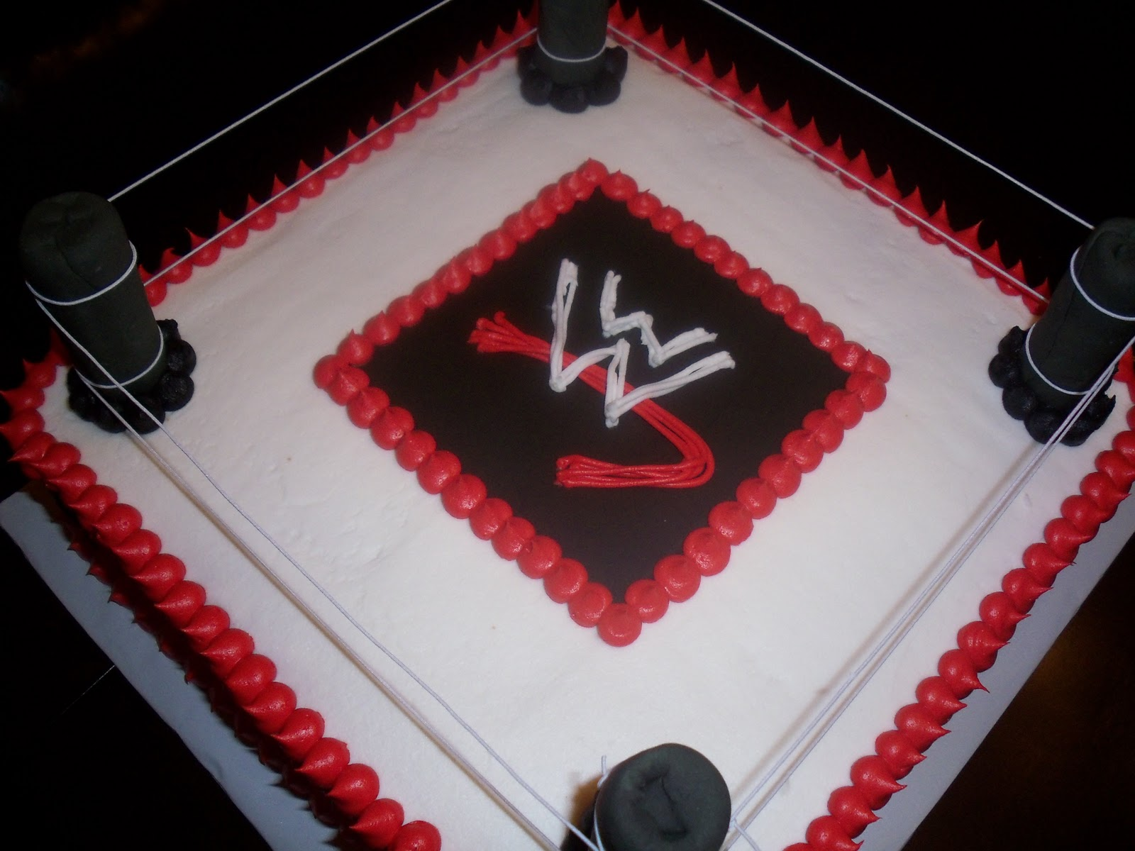 Wrestling Cake Decorating Ideas