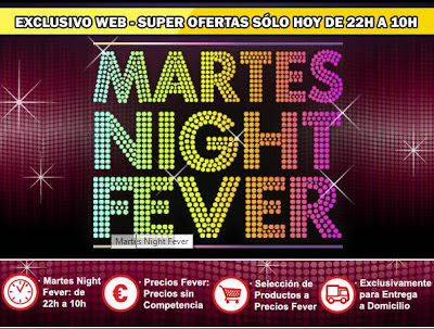 martes night fever en media markt