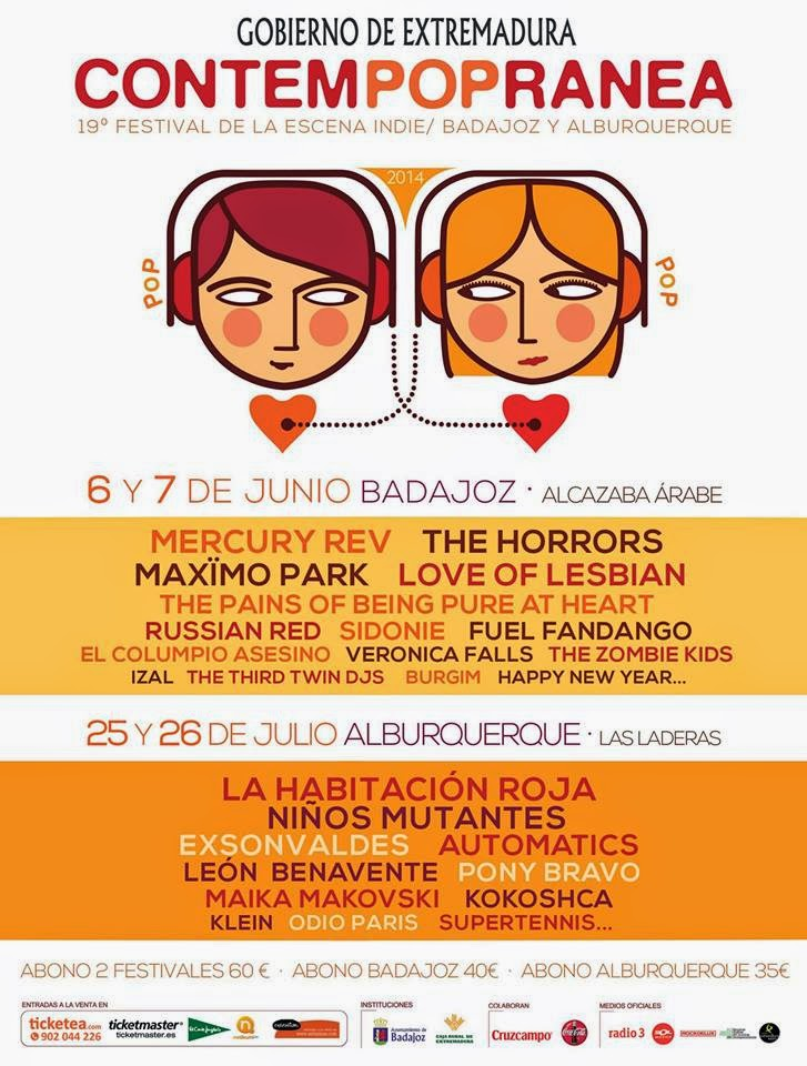 Festival, Contempopranea, 2014, cartel