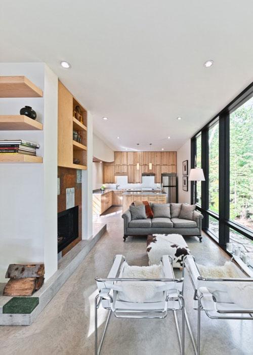 Hill Maheux Cottage interior