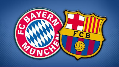 Barcelona VS Bayern munich video