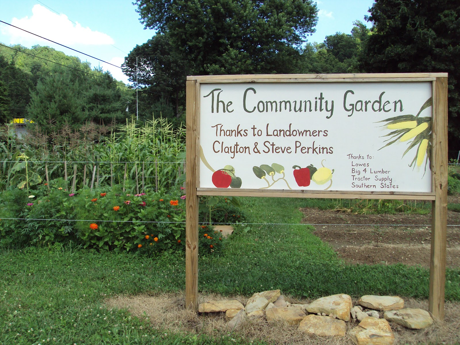 Sustainable Morehead Community Gardens