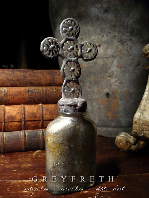 Greyfreth Cross Bottles by Isabeau Grey, copyright Isabeau Grey Inc, all rights reserved, cross bottles, cross bottle