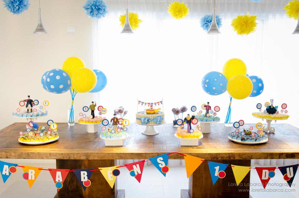 decoracao festa infantil yellow submarine: mais recentes empreitadas em festas que foi a Festa Yellow Submarine
