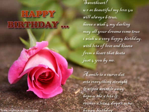images of birthday wishes for lover - photo #17