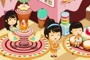 Dondurma Kafe Dekorasyon Oyunu