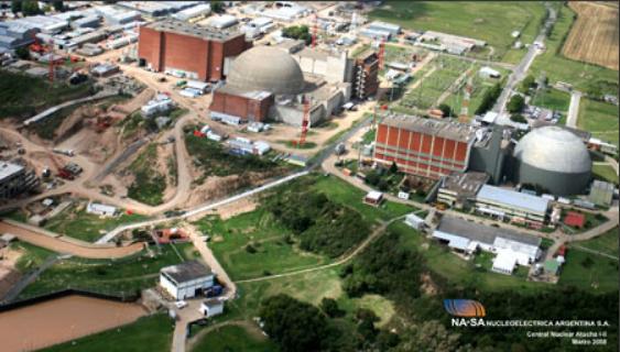 Argentina inaugura central nuclear após 25 anos