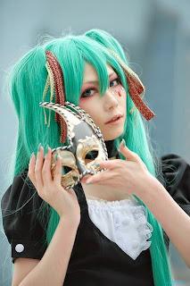 Houtou Singi Cosplay as Vocaloid Hatsune Miku