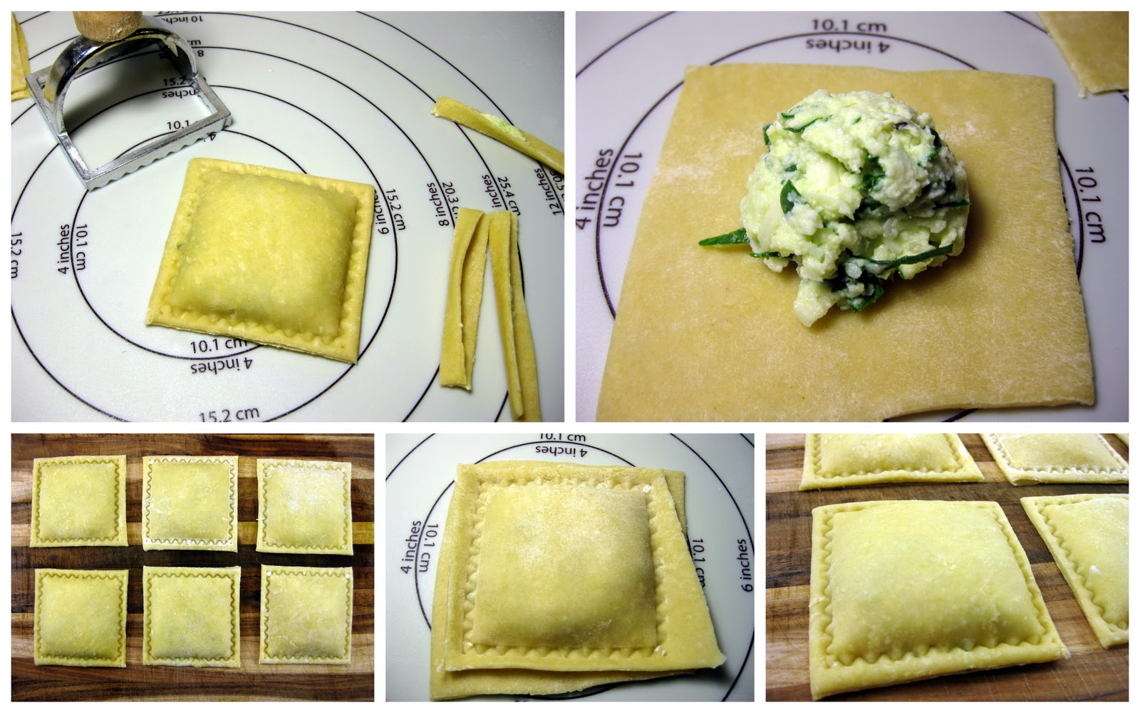 Spinach And Cheese Ravioli With Sage And Garlic Butter Sauce Recipes ...