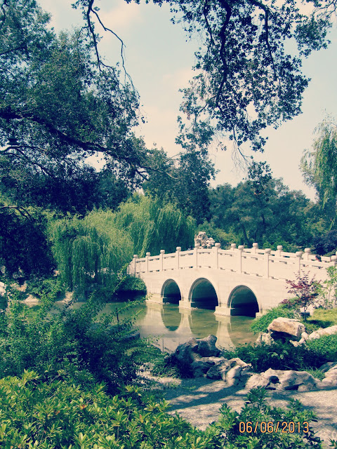 Huntington Gardens- Garden Bridge