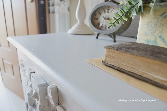 Restyling di un mobile etnico-shabby&Countrylife.blogspot.it