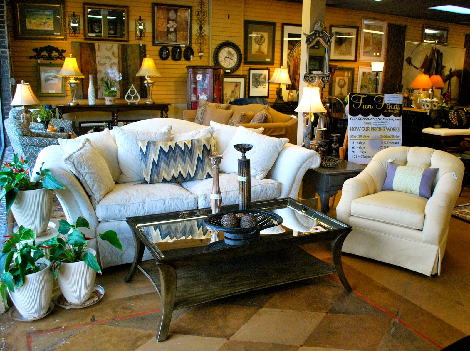 Luxury Home Furnishings For Less At Fun Finds And Designs Atlanta Consignment Stores