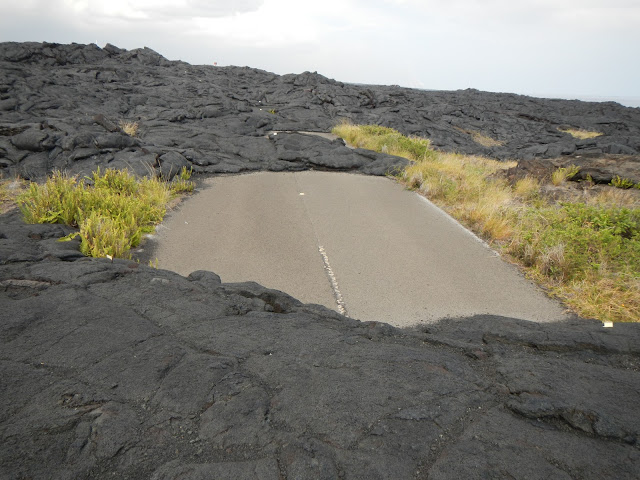 Old lava flow